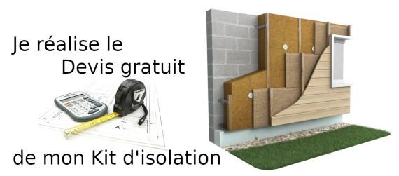 Devis kit ITE isolation